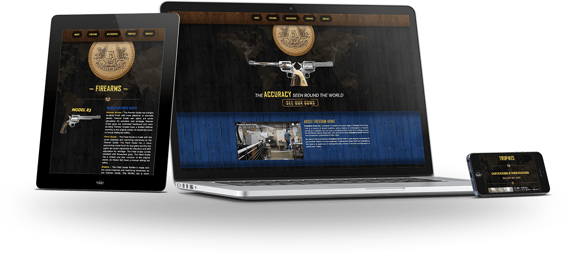 Freedom Firearms Web Design